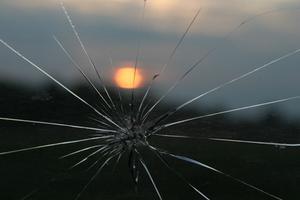 Comment réparer une fissure verre