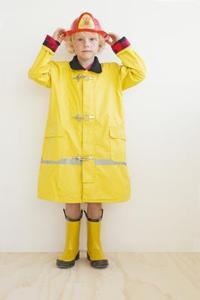 Peu coûteux Costumes d'Halloween pour les enfants Fireman