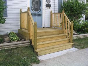 Comment construire un porche en quatre étapes pour une maison mobile