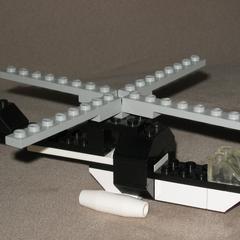 Comment faire un petit hélicoptère Lego