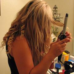 Hot coiffures avec des extensions de cheveux