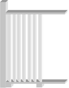 Comment construire une clôture de protection verticale persiennes