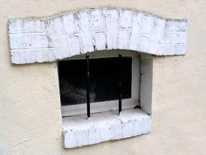 probl mes avec des rideaux dans une petite fen tre de sous sol. Black Bedroom Furniture Sets. Home Design Ideas