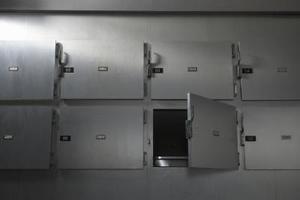 Comment faire face à être dans une morgue