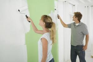 Quel type de peinture qui fonctionne le mieux sur le plâtre?