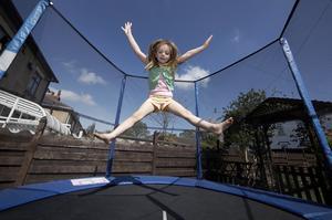 Comment réparer un trou de trampoline