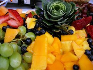 Comment décorer des plateaux de fruits