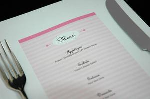 Comment faire un menu de restaurant élégant