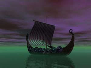 Quelle jauge de fil est pour une chaîne Viking tricot?