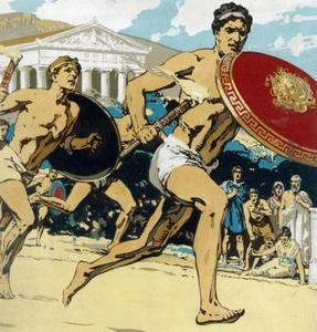 Jeux grecs pour les enfants