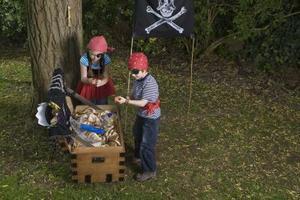 Homemade Pirate décorations d'Halloween