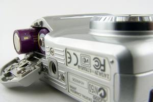 Comment puis-je réparer une porte de la batterie Kodak appareil photo?