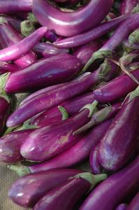 Comment la vapeur aubergines