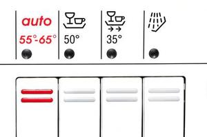 Le réglage de la température normale de l'eau pour les chauffe-eau Accueil