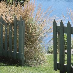 Types de clôture en bois