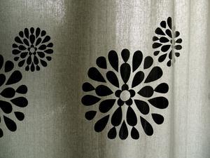 Comment peindre rideaux