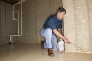 Comment nettoyer la moisissure hors sol en béton Murs