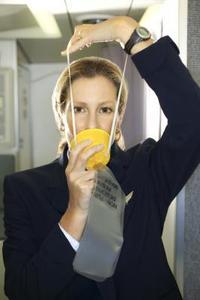 Quel cas provoquer oxygène Masques d'un avion au travail?