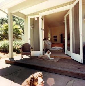 Description d'une porche ouvert