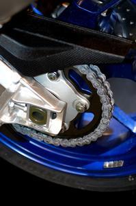 Comment faire pour supprimer une chaîne de moto Lien