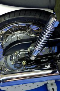 Comment changer le pneu sur une Honda Elite CH250