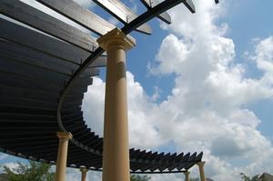Idées pour l'installation de toile d'ombrage sur une Porche