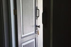 Comment utiliser des couleurs diff rentes pour une porte - Encadrement porte couleur differente ...