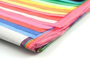 Comment faire leis de papier tissu