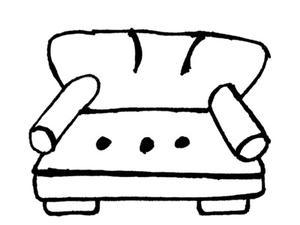comment r nover un canap avec des coussins fixes. Black Bedroom Furniture Sets. Home Design Ideas