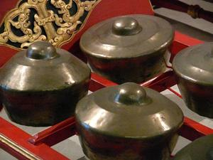 Instruments utilisés dans le Gamelan Beleganjur