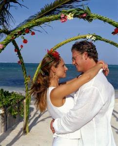 Arch & toile de fond des idées pour un mariage