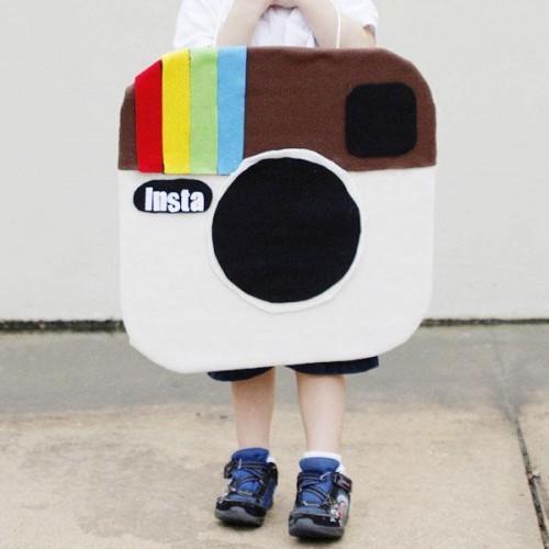 Faire un costume fait maison Instagram