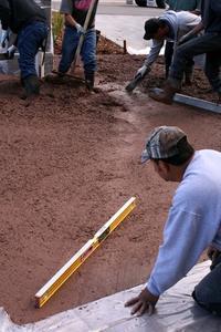Comment couler le béton pour un plancher de garage