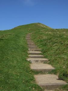 Comment construire des marches sur une colline