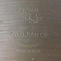 Comment identifier Vintage Zildjian Cymbales