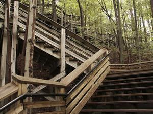 Comment construire un pont main courante de l'escalier