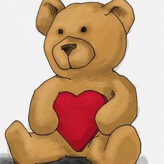 Comment dessiner Teddy Bear de la Saint Valentin