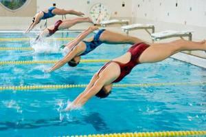 Comment plonger dans une piscine