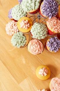 Idées pour les arrangements Cupcakes