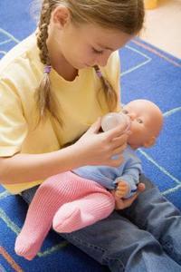 Comment obtenir les taches sur les visages de poupées