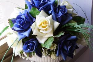 Fleurs artificielles pour Cour Decoration Idées