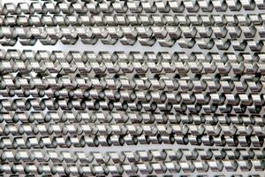Des expériences avec de la laine d'acier inoxydable