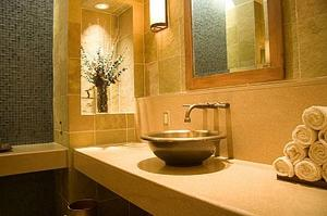 Comment garder un chaud de salle de bains en hiver