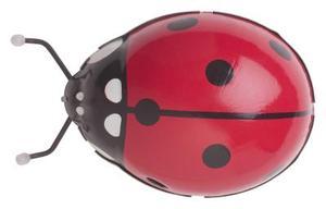 Ladybug boule de bowling Artisanat pour un jardin