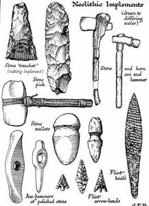 Outils de l'âge de pierre Nomads