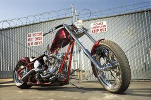 matériaux de construction de châssis de la moto