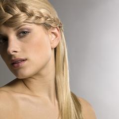 Différentes couleurs de cheveux blonds
