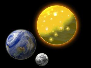 Soleil, la Lune et les étoiles Gâteau Idées