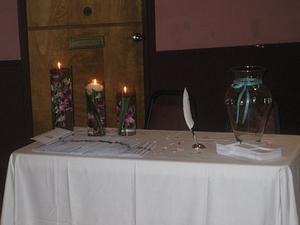 Comment décorer une table de bol de souhaits