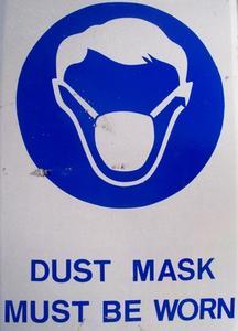 Masques de sécurité pour l'amiante et de moules